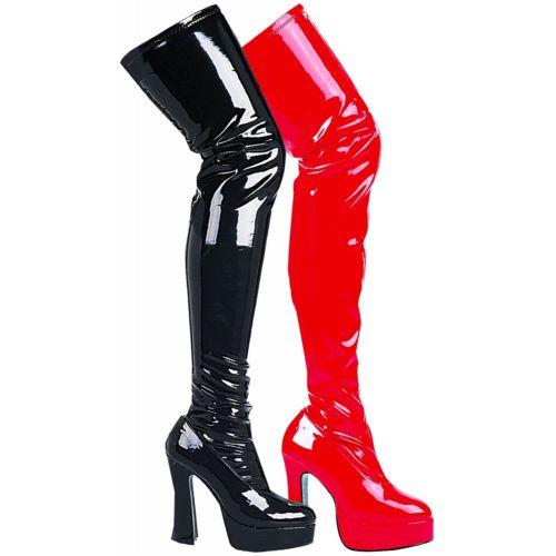 Thigh High Boots セクシー 衣装 High シューズ Heel Platform 大人用 シューズ 靴 Fetish 大人用 レディス 女性用 ハロウィン コスチューム コスプレ 衣装 変装 仮装, こだわりパン屋の田中さん:5fe580c7 --- officewill.xsrv.jp