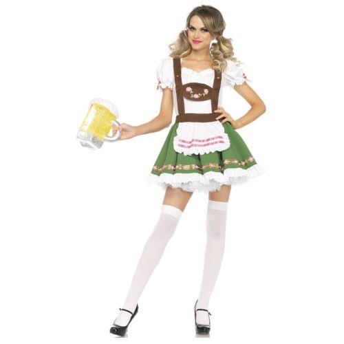 オクトーバーフェスト 大人用 German Beer ガール クリスマス ハロウィン コスチューム コスプレ 衣装 変装 仮装