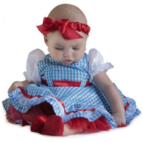 【ポイント最大29倍●お買い物マラソン限定!エントリー】ベイビー DorothyNewborn ガール Outfit Up ハロウィン コスチューム コスプレ 衣装 変装 仮装