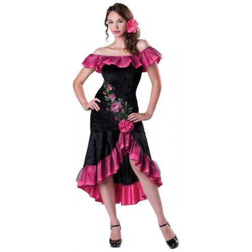 【ポイント最大29倍●お買い物マラソン限定!エントリー】Flamenco Dancer 大人用 セクシー Spanish Senorita ハロウィン コスチューム コスプレ 衣装 変装 仮装