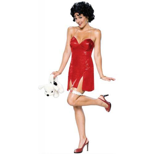 Betty Boop 大人用 レディス 女性用 セクシー Short ドレスStd/プラスサイズ 大きいサイズ クリスマス ハロウィン コスチューム コスプレ 衣装 変装 仮装