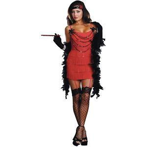 フラッパー 大人用 レディス 女性用 Roaring 20s フラッパー ガール ハロウィン コスチューム コスプレ 衣装 変装 仮装