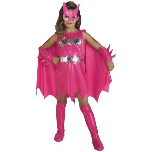 バットガール キッズ 子供用 Pink レディス 女性用 Superhero クリスマス ハロウィン コスチューム コスプレ 衣装 変装 仮装