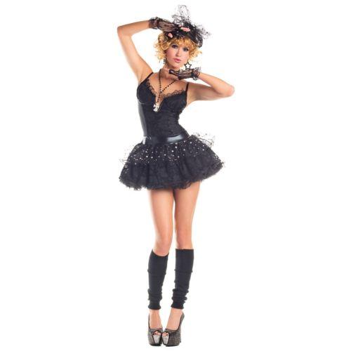 【ポイント最大29倍●お買い物マラソン限定!エントリー】Material ガール 大人用 80s Madonna ハロウィン コスチューム コスプレ 衣装 変装 仮装