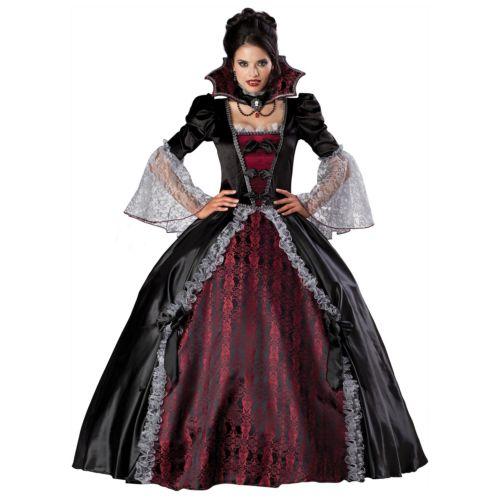 バンパイア 吸血鬼レディス 女性用 大人用 Victorian Masquerade Ball Gown ハロウィン コスチューム コスプレ 衣装 変装 仮装
