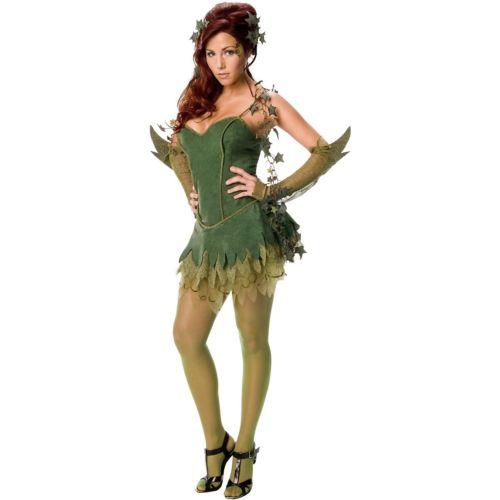 Poison Ivyレディス 女性用 セクシー 大人用レディス 女性用 Villain ハロウィン コスチューム コスプレ 衣装 変装 仮装