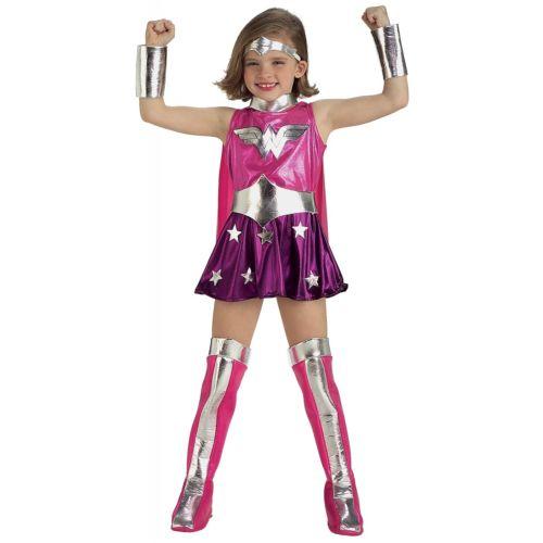 【ポイント最大29倍●お買い物マラソン限定!エントリー】Wonder Womanfor 子供用 ガールズ キッズ Superhero ハロウィン コスチューム コスプレ 衣装 変装 仮装