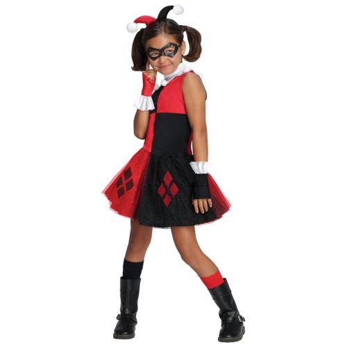 Harley Quinn 子供用 ガールズ & Toddler レディス 女性用 Villain クリスマス ハロウィン コスチューム コスプレ 衣装 変装 仮装