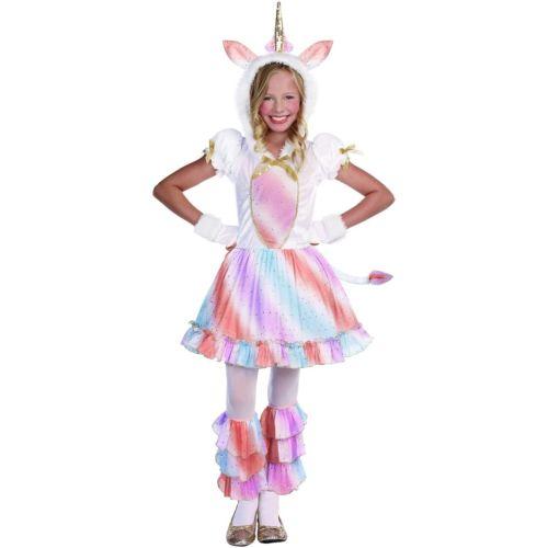 Unicorn 子供用 ガールズ ガール ハロウィン コスチューム コスプレ 衣装 変装 仮装
