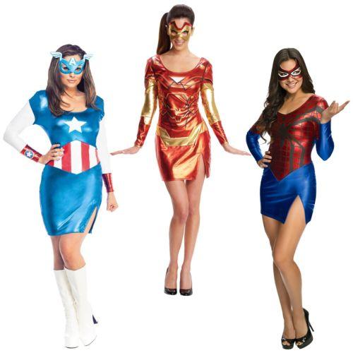 Superheroレディス 女性用 大人用 Group Ideas セクシー レディス 女性用 ハロウィン コスチューム コスプレ 衣装 変装 仮装