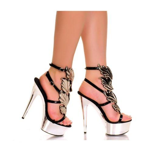 セクシー High High Heel シューズ 靴 大人用 レディス Sandals 女性用 大人用 Strappy Platform Sandals ハロウィン コスチューム コスプレ 衣装 変装 仮装, トレイルランニング専門店SKYTRAIL:736cc4f5 --- officewill.xsrv.jp