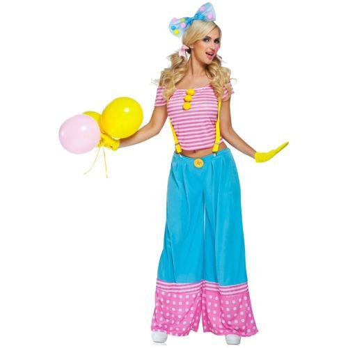 セクシー クラウン ピエロ 道化師レディス 女性用 大人用 ハロウィン コスチューム コスプレ 衣装 変装 仮装