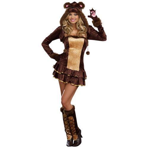 クマ 熊レディス 女性用 大人用 セクシー ハロウィン コスチューム コスプレ 衣装 変装 仮装