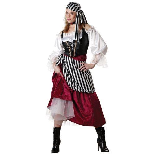 Pirate's 仮装 Wench Quality 大人用 レディス 女性用 Deluxe 女性用 High Quality ハロウィン コスチューム コスプレ 衣装 変装 仮装, ハチカイムラ:028ad905 --- officewill.xsrv.jp