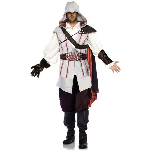 Assassins Creed アサシンクリード 大人用 Ezio クリスマス ハロウィン コスチューム コスプレ 衣装 変装 仮装