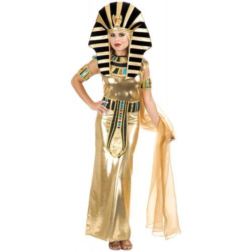 Nefertiti 大人用 エジプト 古代エジプト Queen クレオパトラ Gold クリスマス ハロウィン コスチューム コスプレ 衣装 変装 仮装