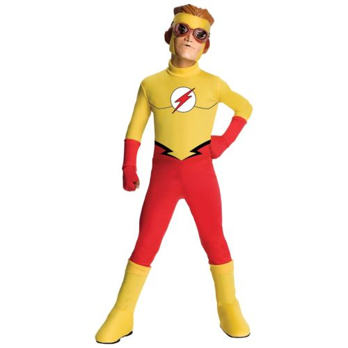 Flash キッズ 子供用 The Flash Young Justice ハロウィン コスチューム コスプレ 衣装 変装 仮装