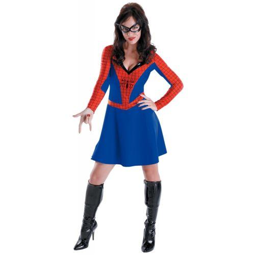 スパイダーガール クラシック 大人用 スパイダーガール ハロウィン コスチューム コスプレ 衣装 変装 仮装