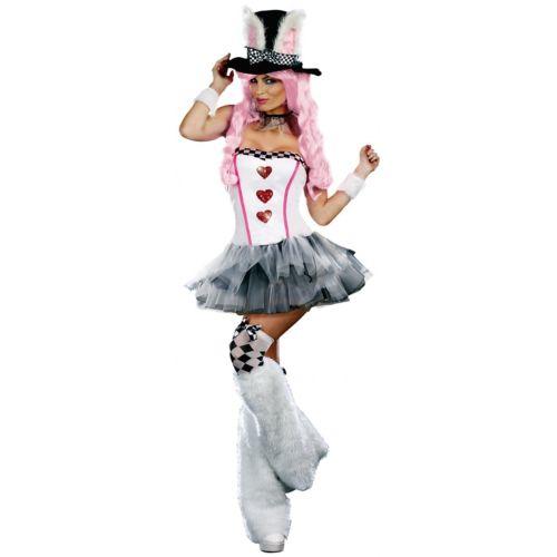Lost in Wonderland Wonderland ホワイト ウサギ コスチューム 大人用 ハロウィン ホワイト コスチューム コスプレ 衣装 変装 仮装, カネヨン水産:e3a8d448 --- officewill.xsrv.jp