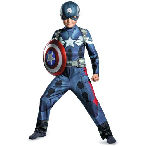 Captain America キャプテンアメリカ キッズ 子供用 Superhero Outfit ハロウィン コスチューム コスプレ 衣装 変装 仮装