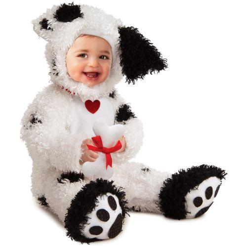 【全品P5倍】Dalmationfor ベイビー/Newborn/Toddler Puppy Dog クリスマス ハロウィン コスチューム コスプレ 衣装 変装 仮装