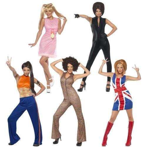 Spice ガール 大人用 レディス 女性用 Group Ideas 90s ハロウィン コスチューム コスプレ 衣装 変装 仮装