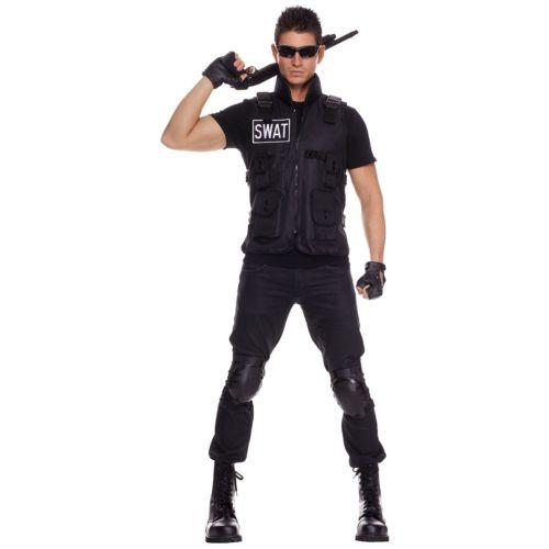 S.W.A.T. ポリス 変装 アクセサリー Vest 大人用 SWAT 特殊部隊 スワット Police ポリス 警察 おまわりさん Vest ポリス ポリスマン 警察 おまわりさん ハロウィン コスチューム コスプレ 衣装 変装 仮装, RUIRUE BOUTIQUE:6cdfbac2 --- sunward.msk.ru