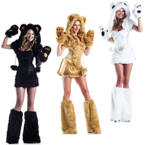 <title>Sexy Bear Costume Adult Outfit Halloween Fancy Dress 全品ポイント5倍 セクシー クマ 熊 大人用 女神 クリスマス ハロウィン コスチューム 在庫処分 コスプレ 衣装 変装 仮装</title>