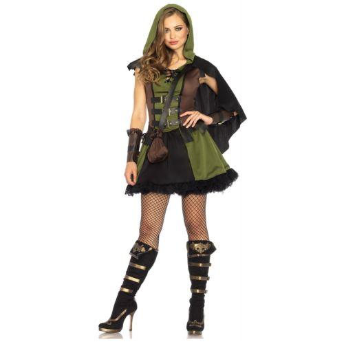 Robin Hood 大人用 Medieval Huntress クリスマス ハロウィン コスチューム コスプレ 衣装 変装 仮装