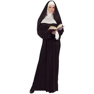 Mother Superior 大人用 Long Nun ドレス & HabitOne Size ハロウィン コスチューム コスプレ 衣装 変装 仮装