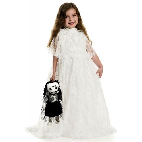 Vintage Doll キッズ 子供用 クリスマス ハロウィン コスチューム コスプレ 衣装 変装 仮装