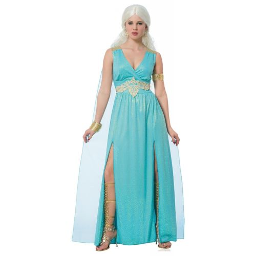 Daenerys Targaryen 大人用 Goddess Game of Thrones ハロウィン コスチューム コスプレ 衣装 変装 仮装