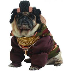 【ポイント最大29倍●お買い物マラソン限定!エントリー】Pity The Fool PetT is for Tough Guy Mr. T 80s Dog ハロウィン コスチューム コスプレ 衣装 変装 仮装