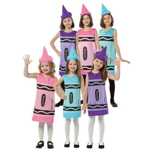 Crayola クレオラ Crayon キッズ 子供用 おもしろい クリスマス ハロウィン コスチューム コスプレ 衣装 変装 仮装
