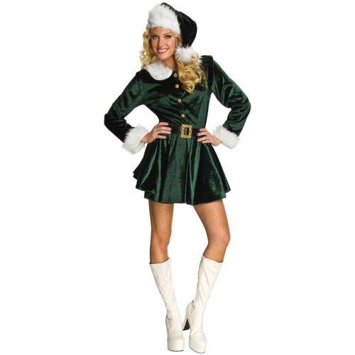 Elfレディス 女性用 大人用 サンタ Helper クリスマス 女神 ハロウィン コスチューム コスプレ 衣装 変装 仮装