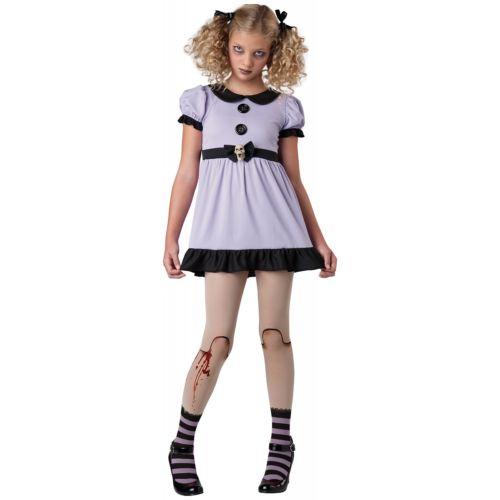 【ポイント最大29倍●お買い物マラソン限定!エントリー】Creepy DollTween キッズ 子供用 Dead Dolly ゴシック & 怖い ハロウィン コスチューム コスプレ 衣装 変装 仮装