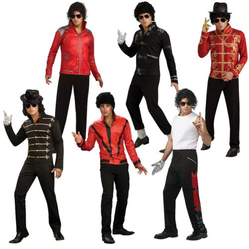 Michael Jackson マイケルジャクソン 大人用 80s Jackson Pop 衣装 Star Outfit ハロウィン Star コスチューム コスプレ 衣装 変装 仮装, CLAMP:85046790 --- officewill.xsrv.jp