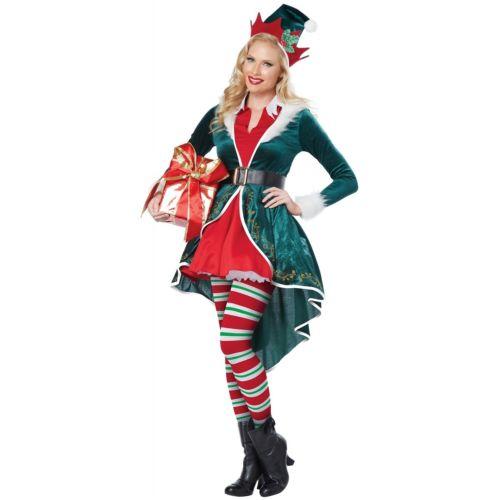 【マラソン全品P5倍】Elfレディス 女性用 大人用 Santas Helper クリスマス クリスマス ハロウィン コスチューム コスプレ 衣装 変装 仮装