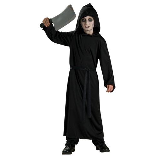【全品P5倍】ブラック ローブ 子供用 ガールズ Ghoul 怖い クリスマス ハロウィン コスチューム コスプレ 衣装 変装 仮装