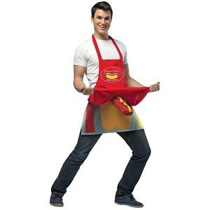 Hot Dog Vendor Dirty Apron 大人用 ハロウィン コスチューム コスプレ 衣装 変装 仮装