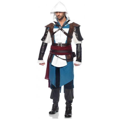 Assassins Creed アサシンクリード 大人用 Edward Kenway クリスマス ハロウィン コスチューム コスプレ 衣装 変装 仮装