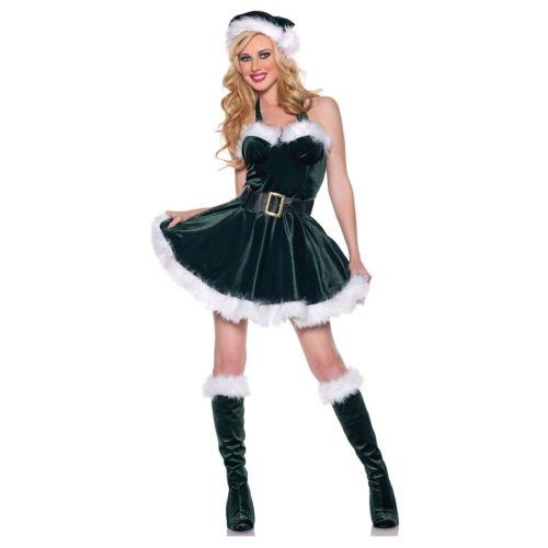 Stocking Stuffer Santa Claus's Helper Elf 大人用 セクシー ドレス クリスマス ハロウィン コスチューム コスプレ 衣装 変装 仮装