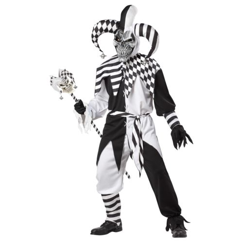 【ポイント最大29倍●お買い物マラソン限定!エントリー】Nobody's Fool Evil Jester 大人用 男性用 メンズ 怖い ハロウィン コスチューム コスプレ 衣装 変装 仮装