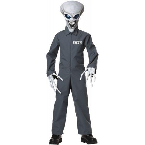 【店内全品P5倍】Alien 子供用 ガールズ 怖い and Funny Martian クリスマス ハロウィン コスチューム コスプレ 衣装 変装 仮装
