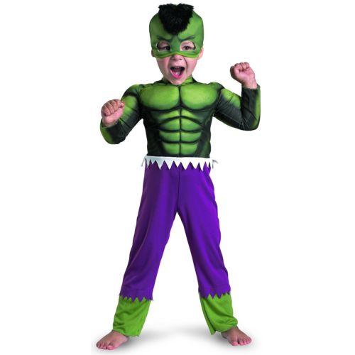 HulkToddler キッズ 子供用 The Incレッドible Hulk スーパーヒーロー クリスマス ハロウィン コスチューム コスプレ 衣装 変装 仮装