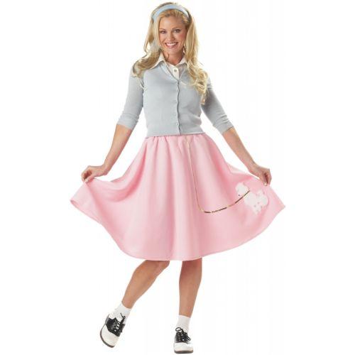 プードル 犬 ドッグ スカート 大人用 レディス 女性用 1950s ハロウィン コスチューム コスプレ 衣装 変装 仮装