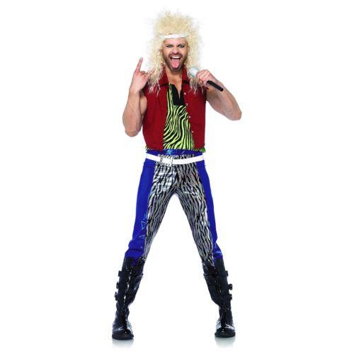【ポイント最大29倍●お買い物マラソン限定!エントリー】80s 大人用 Rock Star ハロウィン コスチューム コスプレ 衣装 変装 仮装
