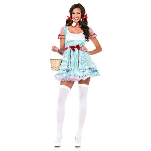 【マラソン全品P5倍】Dorothy 大人用 オズの魔法使い クリスマス ハロウィン コスチューム コスプレ 衣装 変装 仮装