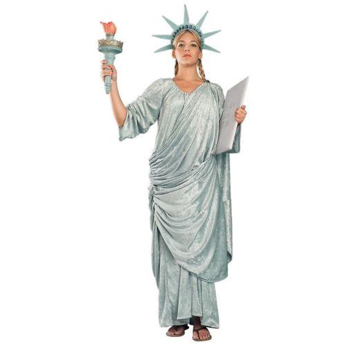 【ポイント最大29倍●お買い物マラソン限定!エントリー】Regency Collection Statue of Liberty 大人用 Lady ハロウィン コスチューム コスプレ 衣装 変装 仮装