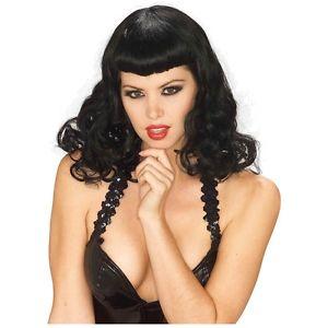 Pin-Up ガール Wig 大人用 レディス 女性用 Bettie Paige 50sAcsy ハロウィン コスチューム コスプレ 衣装 変装 仮装